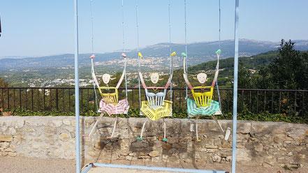 Bild: Mougins im Département Alpes Maritimes