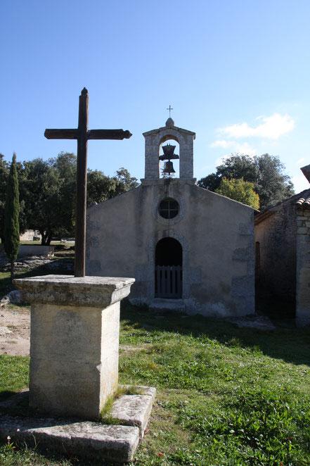 Bild: St-Pierre et St Marie aus dem 16. Jh. in Sivergues