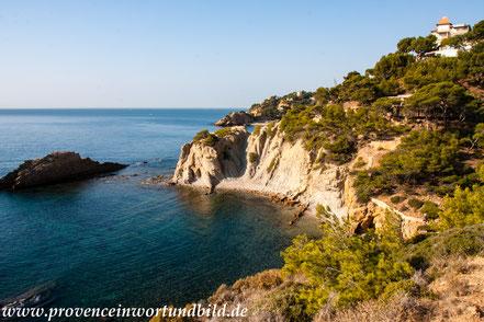 Bild: Wanderung an der Côte Bleue über der Calanque des Anthénors