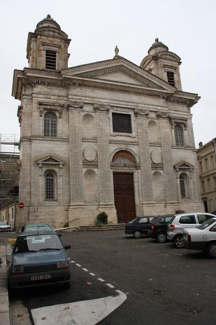 Bild: Kirche Saint-Nicolas in Nérac
