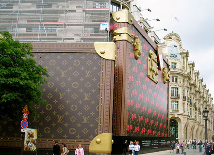 Als Louis Vuitton umgebaut hat, war das keine normale Baustelle