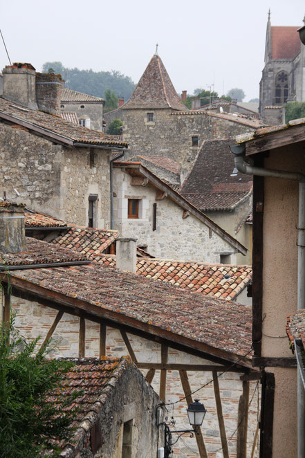 Bild: Dächer von Nérac