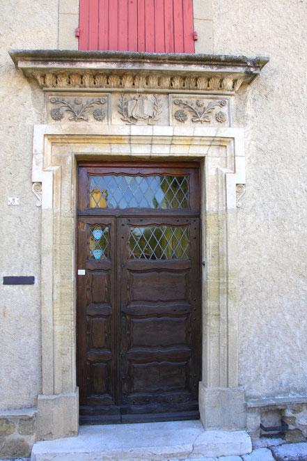 Bild: Portal in Courthezon