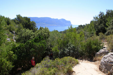 Bild: Wanderweg zur Calanque d´En Vau