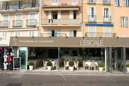 Bild: Fischrestaurant am Quai Jean-Jaures in Saint-Tropez