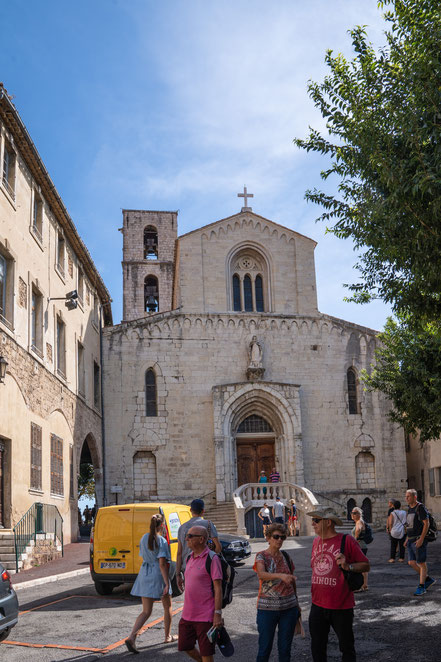 Bild: Grasse mit Cathédrale Notre-Dame-du Puy im Département Alpes Maritimes