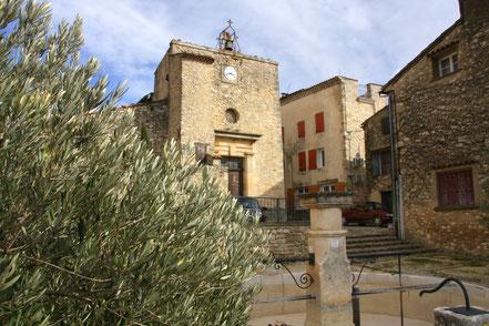 Bild: Kirche von Caseneuve