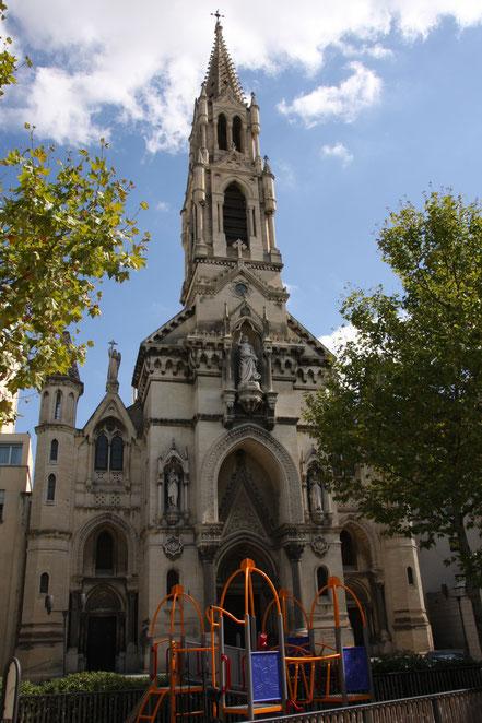 Bild: Die Kirche Sainte-Perpétue-et-Félicité in Nimes
