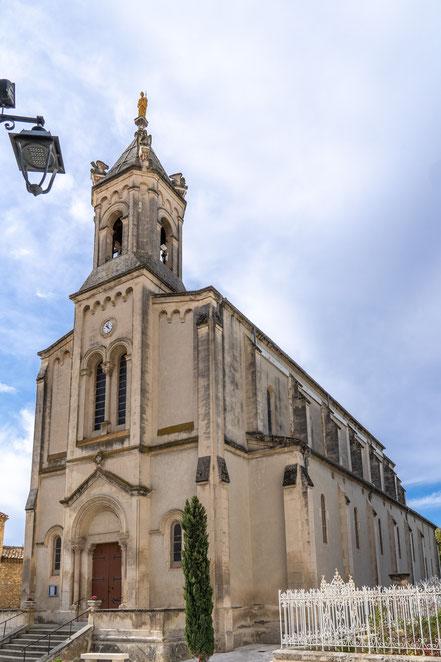 Bild: Boulbon im Bouches du Rhône, hier Saint-Anne