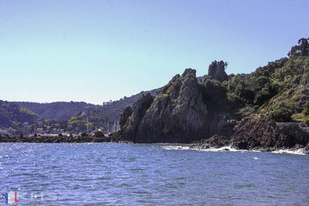 Bild: Küste bei Château La Napoule