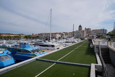 Bild: Hafen von Saint-Raphael