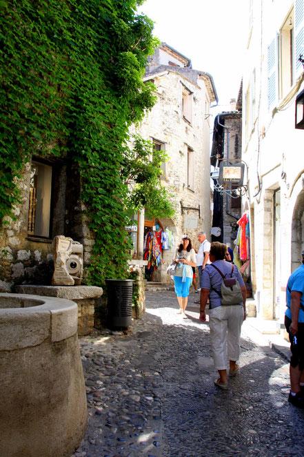 Bild: in der Rue Grande in St.-Paul de Vence