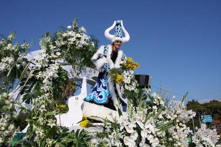 Bild: Fasching mit Blumencorso an der Côte d´Azur