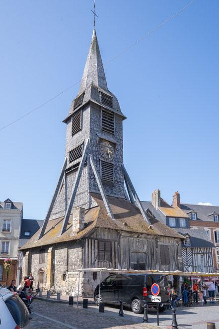 Bild: Honfleur im Département Calvados in der Normandie