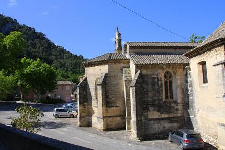 Bild: Pfarrkirche in Robion