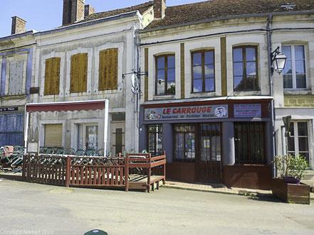 Bild: Straße in Treigny