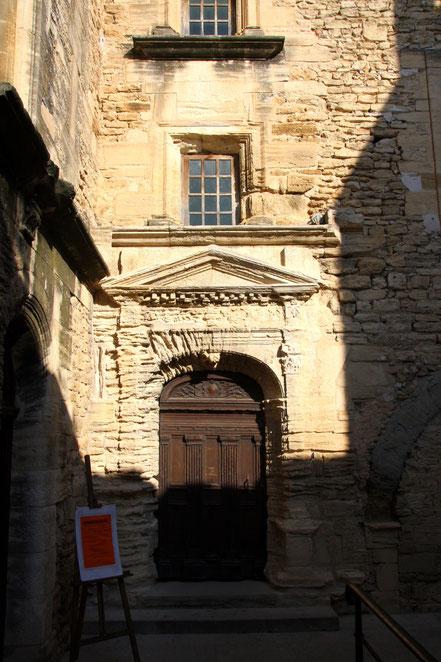 Eingang zum Château