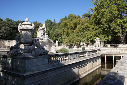 Bild: Jadines de la Fontaine in Nimes