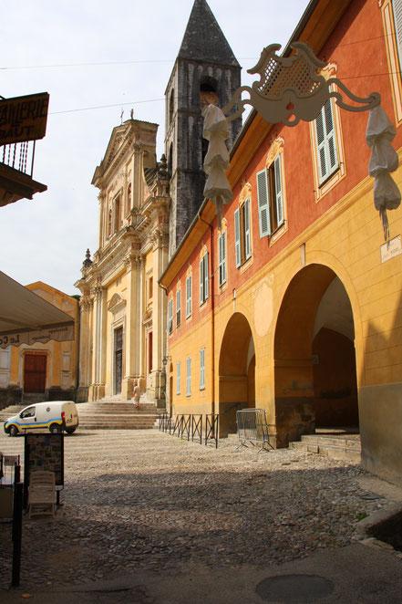 Bild: Sospel mit Palais Ricci