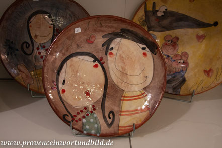 """Bild: in der Gallerie """"L´Argilla"""", Aubagne"""