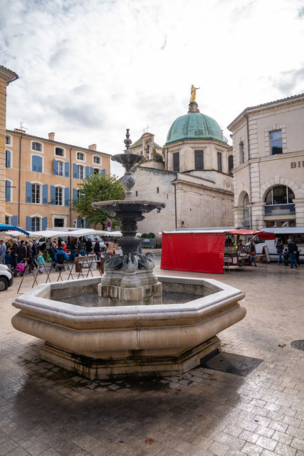 Bild: Apt im Luberon, Provence
