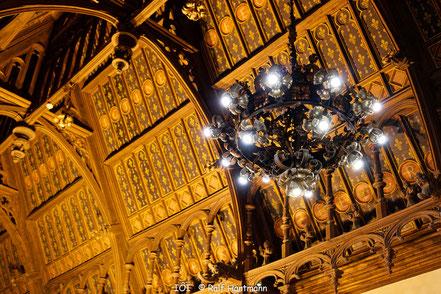 Bild: Gotischer Saal im Palais Bénédictine Fécamp - Benediktinerpalast in Fécamp