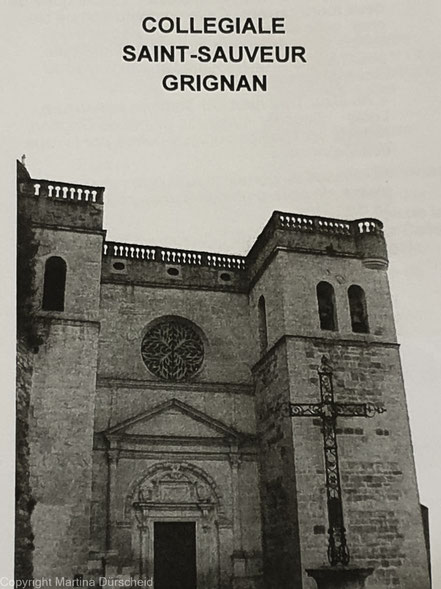 Bild: Collegiale Saint-Sauveur in Grignan