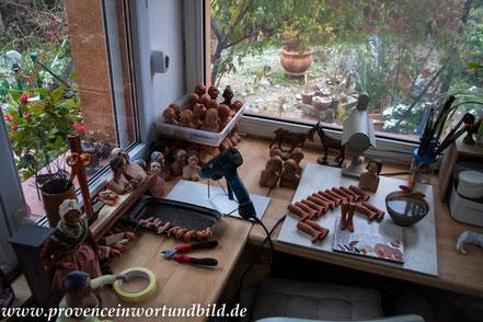 Bild: Santonherstellung Lise Berger, Roquevaire