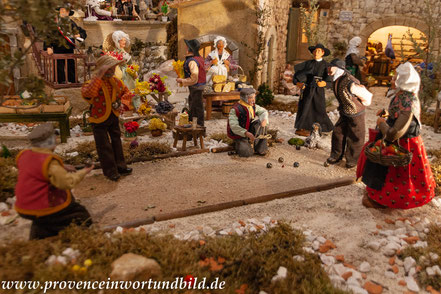 Bild: Le Village des Santons en Provence in Aubagne