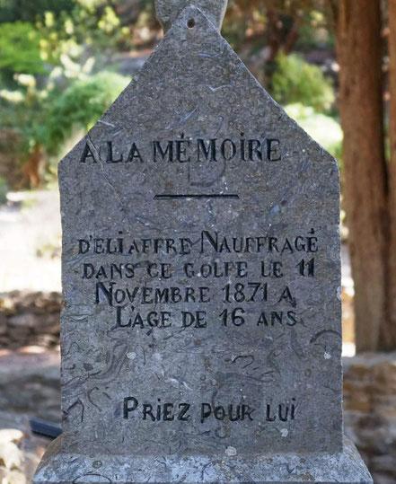 Bild: Seemannsfriedhof Gruissan