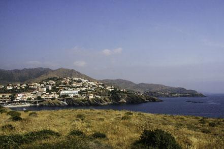 Bild: Cerbère an der Küstenstraße Banyuls-sur-Mer nach Cadaqués