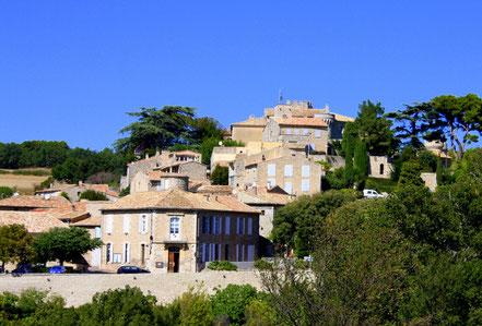 Bild: Blick auf Murs, Provence