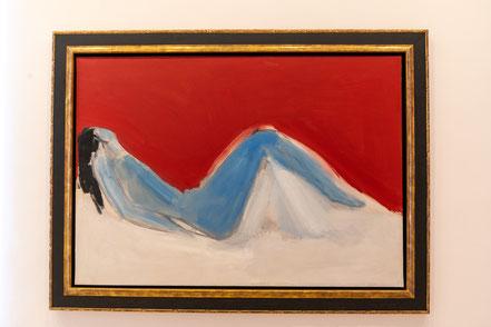 Bild: Akt von Nicolas de Stael im Musée Picasso in Antibes
