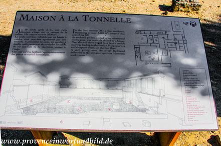 Bild: Römische Ausgrabungen in Vaison-la-Romaine, Quartier de Puymin