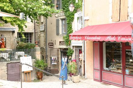 Bild: Ladengeschäft in Gordes