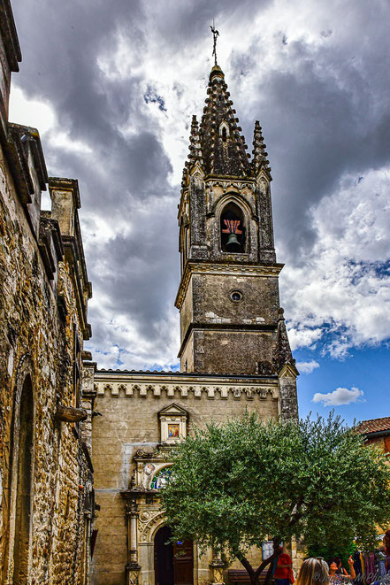 Bild:  Église Saint-Roch in Aiguèze