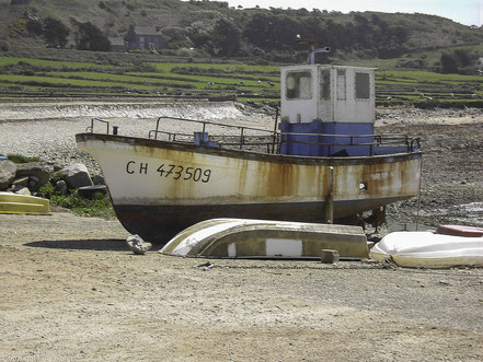Bild: Altes Fischerboot