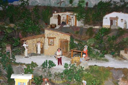 Bild: Provenzialische Krippenfiguren sogenannte Santon, Provence