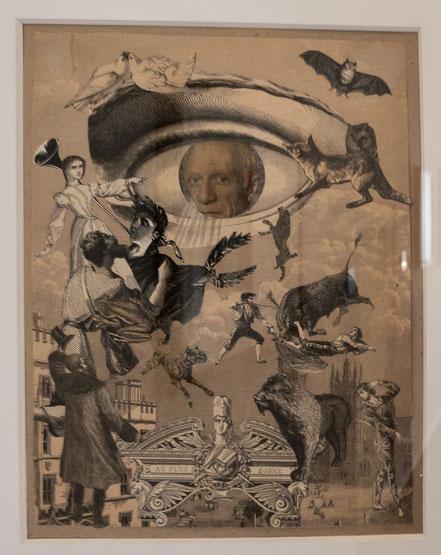 Bild: Bild von Jacques Prévert im Musée Picasso in Antibes