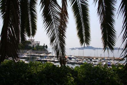 Bild: Der kleine Hafen in der Baie des Fourmis