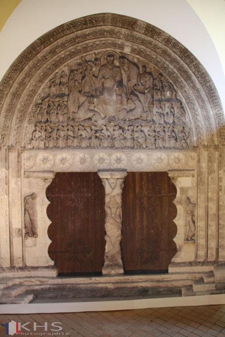 Bild: Portal an der Klosterkirche Saint-Pierre in Moissac