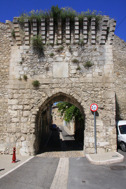 Bild: Port de la Durance in Orgon