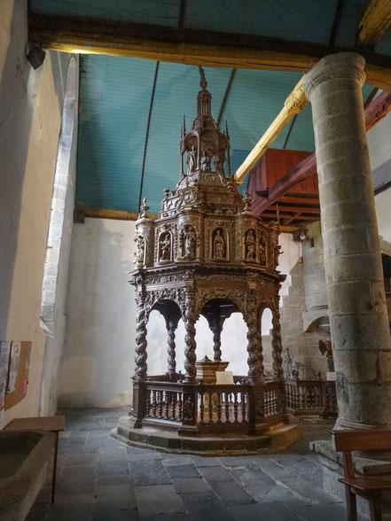 Bild: Taubecken Saint-Thégonnec
