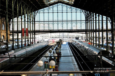 Bild: Gare du Nord in Paris