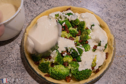 Bild: Rezept für Quiche au brocoli