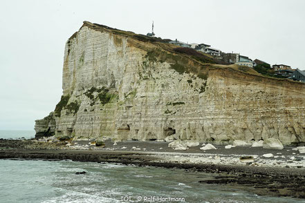 Bild: Blick auf Cap Fécamp