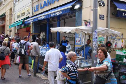 Bild: Marseille in den Seitenstraßen