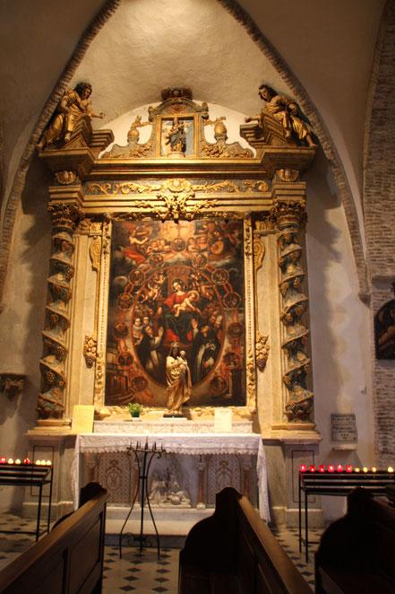 Bild: im Innern de Église Collegiale in St.-Paul de Vence