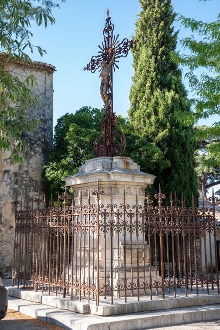 Bild: Pfarr-Kirche, St.-Nazaire et St.-Celse in Mazan, Vaucluse in der Provence