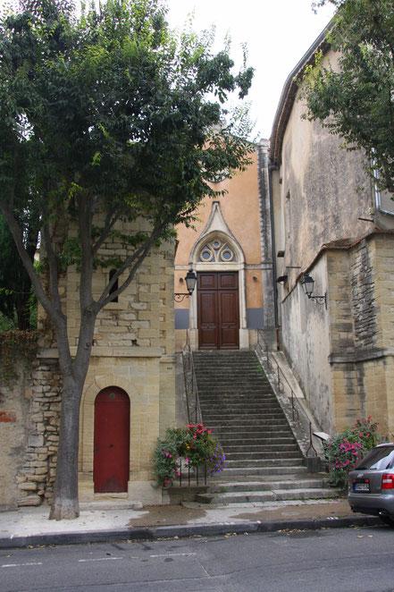 Bild: Kapelle in Caromb